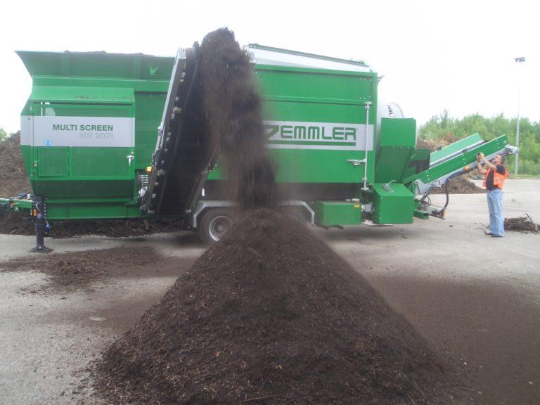 ZEMMLER MULTI SCREEN MS 4200 - Kompost