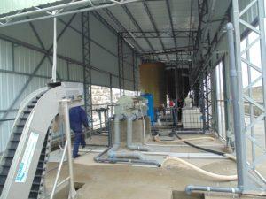 Система очистки воды после линии мойки ПЭТ