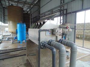 Очистка воды после линии переработки ПЭТ