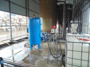 Очистка воды после линии мойки ПЭТ