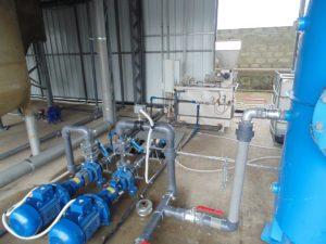 Водоочистка линии переработки ПЭТ